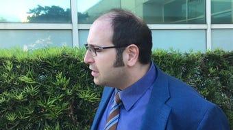 Attorney Bryan Lober talks about the Dave Isnardi bond hearing in Viera.