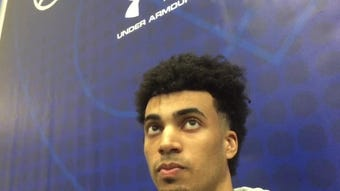 Louisville star Jordan Nwora talks with the Courier Journal about the factors he's weighing before making a NBA Draft decision.