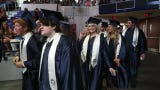 Oasis High School graduates enter arena to cheers from family and friends