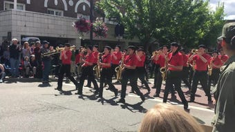 Here's some sights and sounds from Bremerton's 72nd Annual Armed Forces Day parade.