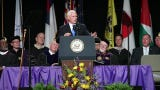 Key moments from V.P. Mike Pence's commencement speech at Taylor University in Upland Ind. on Saturday, May 18, 2019.