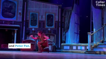 """Harbor Playhouse's """"Peter Pan"""" will run every weekend until June 2, 2019 in downtown Corpus Christi."""