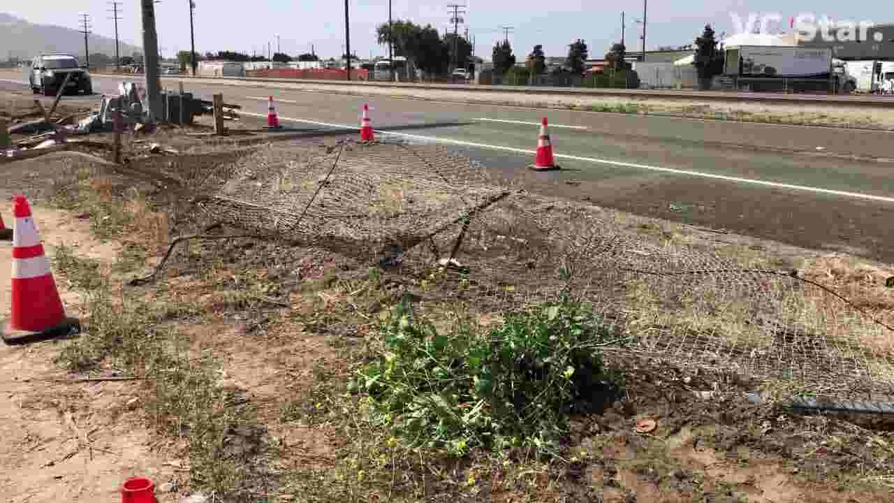 See scenes of 2 tragic Ventura County crashes