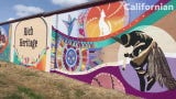 The 595-foot mural celebrates the rich history and bountiful produce of Salinas. Check out this walk-through: