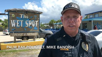 Three people were shot Sunday afternoon at The Wet Spot on U.S. 1 in Palm Bay.