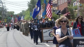 Newark celebrates Memorial Day with a parade down Main St.  Video provided by John J. Jankowski Jr.  5/20/19
