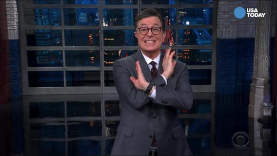 Colbert examines Trump's narcissism in Best of Late Night