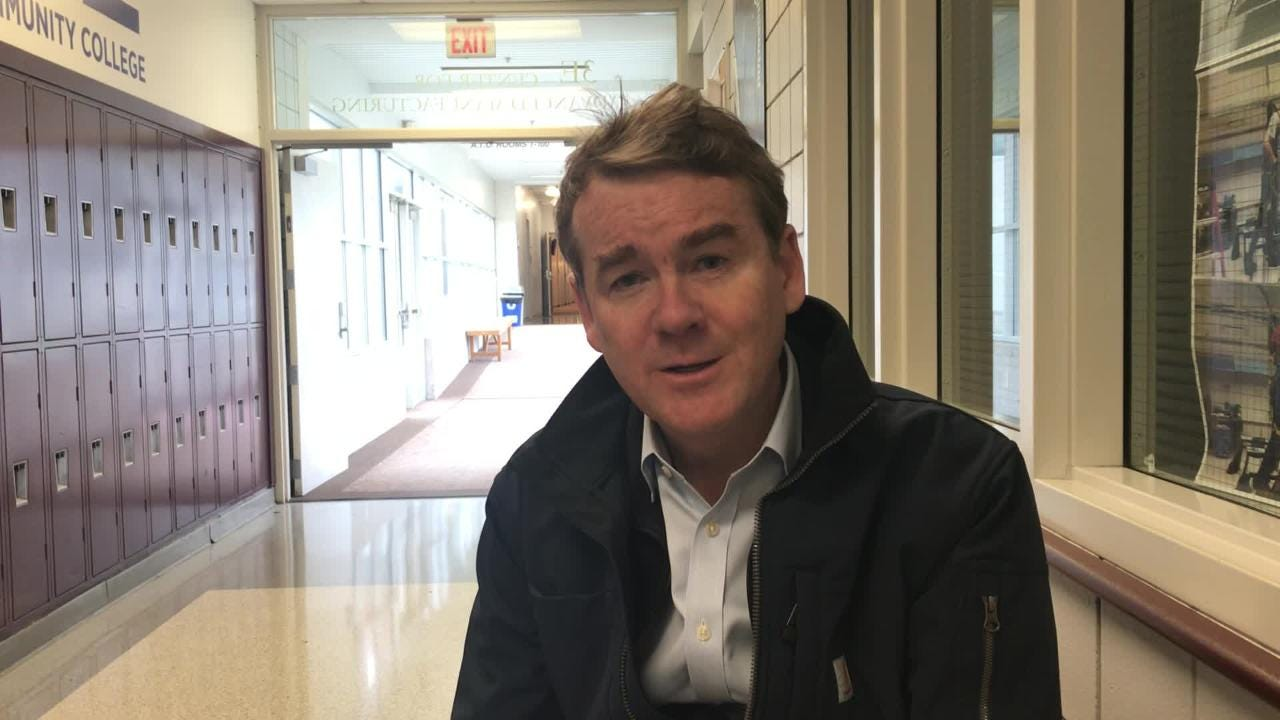 Iowa caucuses 2020: Michael Bennet wants broad support for his plan to fight climate change