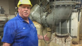 Edison authorities take My Central Jersey on a tour of Edison's sewers and some of the many problems they face.