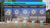 Jackson Weather Forecast, Tuesday, May 21