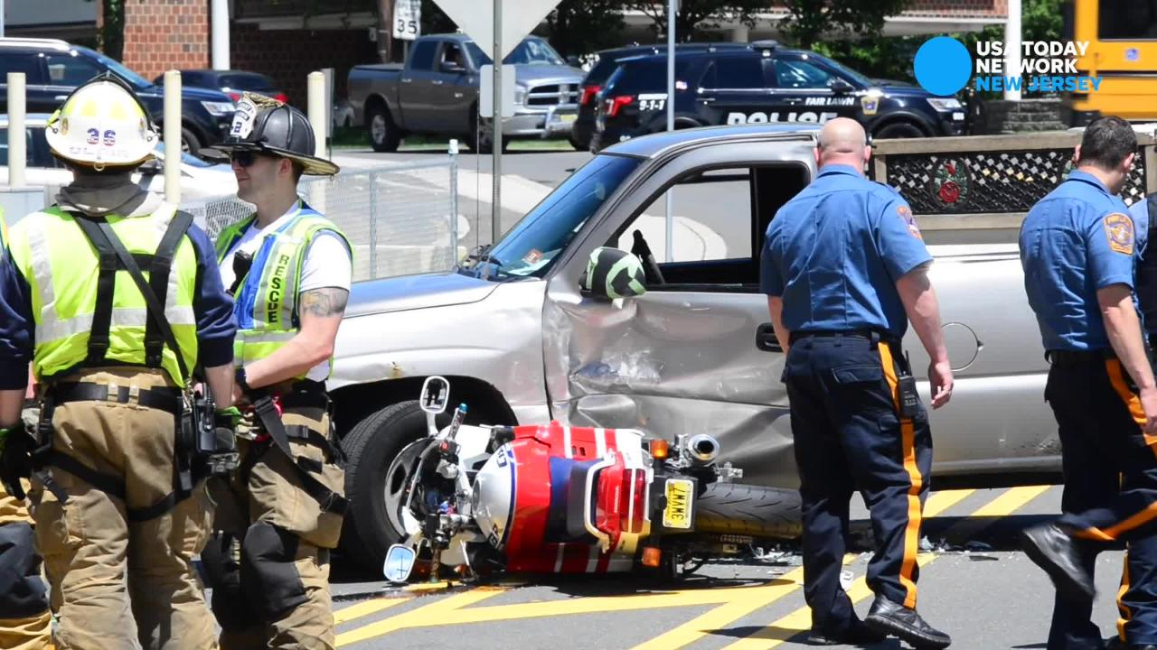 Franklin Lakes Motorcyclist Injured In Fair Lawn Crash With Truck