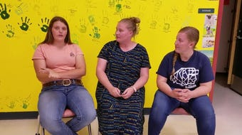 A teacher and students from Snow Canyon High School in St. George talk about their involvement in the FFA.