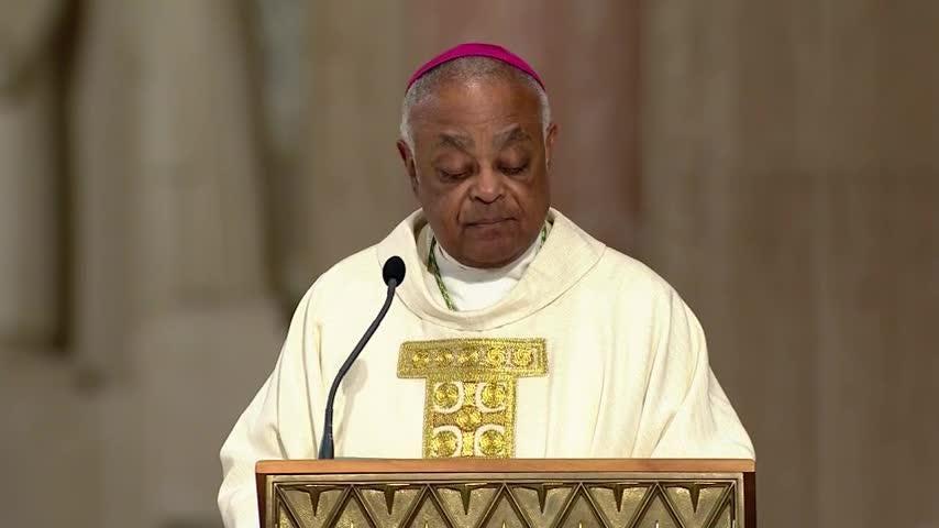 Archbishop Gregory installed in Washington, DC