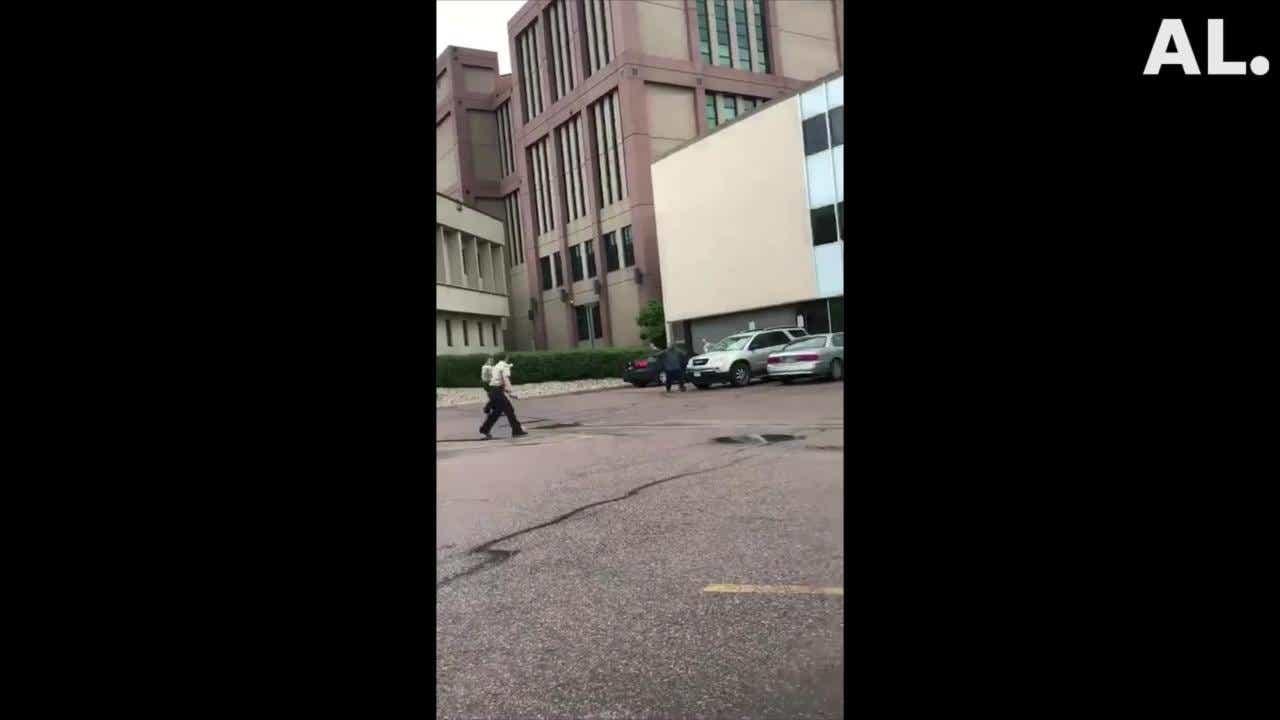 Sioux Falls shooting: Bystander films video of officer-involved shooting