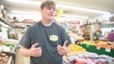Jake Ensor, 15, on getting his first job at Pratt's Country Store.