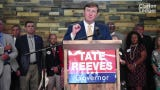 """Mississippi Lt. Gov. Tate Reeves held a news conference at Lakeshore Congregational Methodist Church in Byram, announcing a """"pro-life coalition"""" of about 150 supporters that now back his campaign for governor this year. Tuesday, May 21, 2019."""