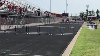 Henderson County's girls track team finished third in the 3-A regional meet Tuesday at Colonel Stadium.