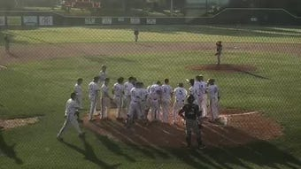 Union County defeated Henderson County 12-5 on Tuesday at B.T. Wayne Field to win the championship of the Sixth District Tournament.