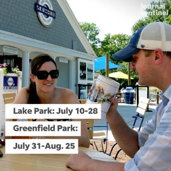 Another sign of summer: the traveling beer gardens have released their summer schedule.