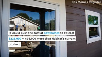 Habitat for Humanity would not meet the requirements laid out in a new zoning code proposed by Des Moines.