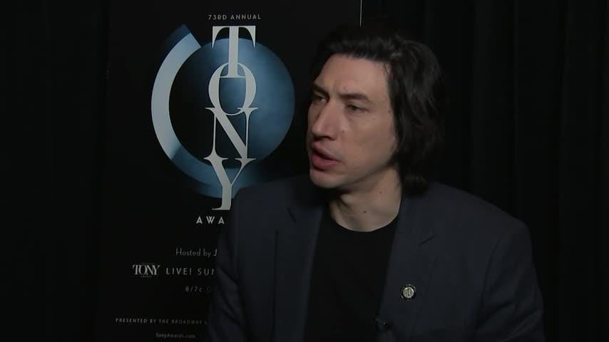Adam Driver credits the military for the courage to act
