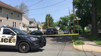 Middlesex County SORT team is on the scene in South River for report of barricaded subject on Wednesday, May 22.