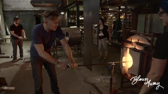 Staffers from the Corning Museum of Glass assisted in the production of a new Netflix show that will air this summer.