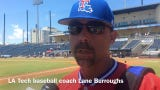 Louisiana Tech head baseball coach Lane Burroughs discussing how his program can fix its Conference USA tournament issues.