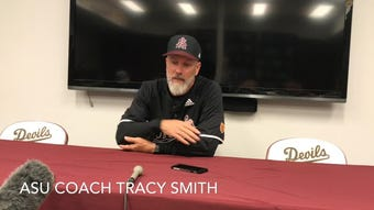ASU baseball coach Tracy Smith, players on comeback win over No. 4 Stanford
