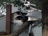 The National Weather Service confirms that an EF1 tornado touched down near Columbia, Maryland on Thursday. (May 24)