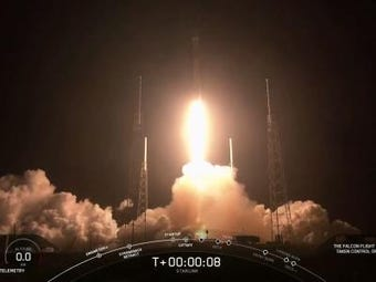SpaceX has launched 60 tiny satellites, the first of hundreds and even thousands that founder Elon Musk plans to put in orbit for global internet coverage. (May 24)