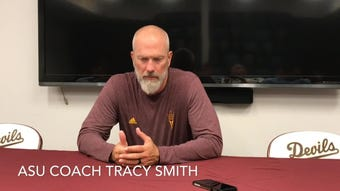 ASU coach Tracy Smith on loss to Stanford and his ejection Friday