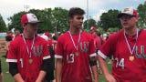 Westfall High School baseball won a D-III district title on Saturday over Wheelersburg. Jay Wyman, Jayden Hammond, and Eric Corzatt discuss the win.