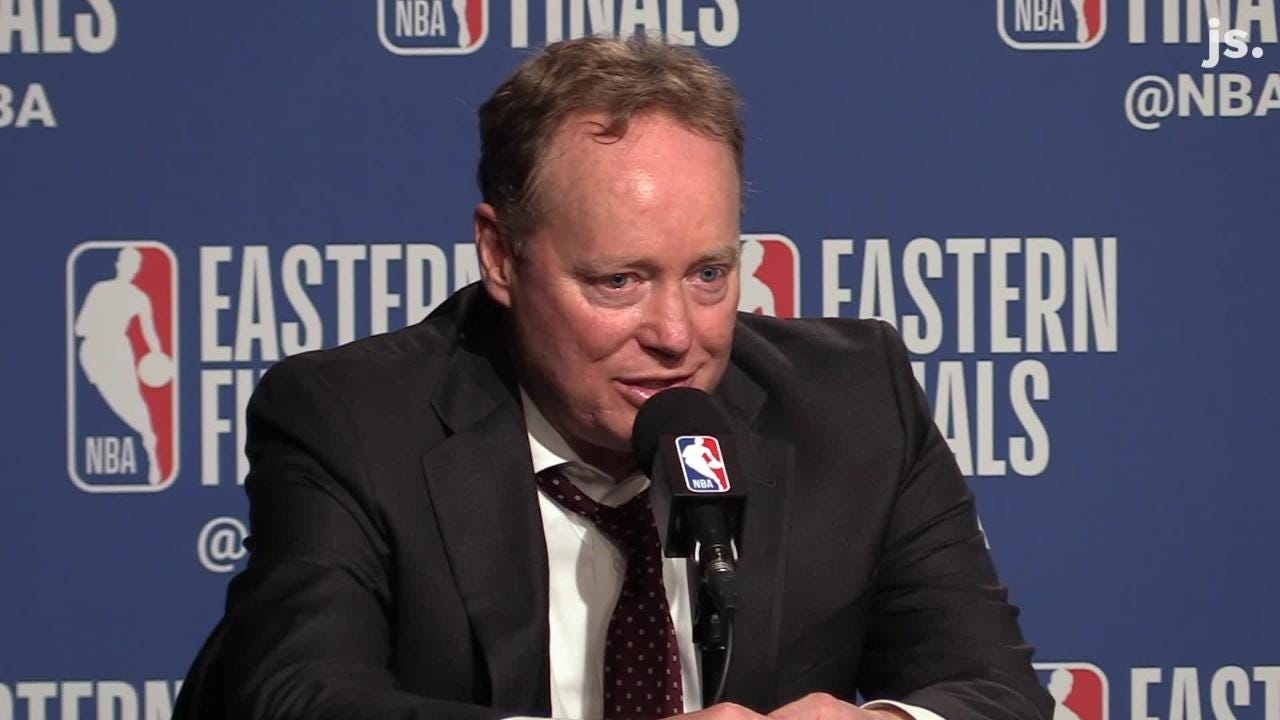 Mike Budenholzer: Giannis Antetokounmpo, entire team have 'a lot of room to grow'