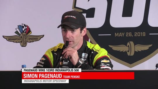 Simon Pagenaud achieves the dream he always knew he could: Indianapolis 500 immortality