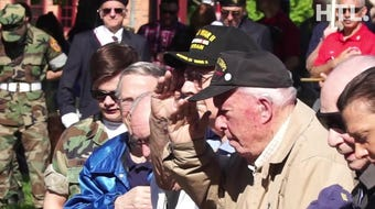 Scenes from Plymouth's May 27th Memorial Day Parade and ceremony. See a few moments from War Memorial Park as Plymouth remembers those who gave all.