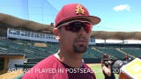 ASU junior outfielder Carter Aldrete on Sun Devils returning to postseason for first time since 2016
