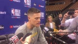 Former Piston and current Warrior Jonas Jerebko always dreamed of playing in the NBA Finals. Filmed May 29, 2019 in Toronto.