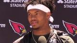 Arizona Cardinals rookie quarterback Kyler Murray adjusting to life in the NFL.