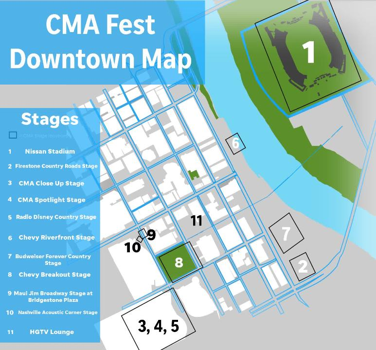 CMA Fest 2019: Downtown map, ticket info, road closures and more Downtown Nashville Nightlife Map on nashville visitors map, nashville hotel map, downtown roanoke nightlife, nashville il map, springfield city street map, nashville tennessee map, downtown dallas street map, downtown seattle map tourist, nashville tour map, nashville area map, lower broadway nashville map, downtown springfield il map, nashville district map, downtown northampton ma map, broadway nashville tn map, downtown vegas bars, downtown dc at night, downtown raleigh bars, downtown portland bars and clubs, bourbon street bars map,