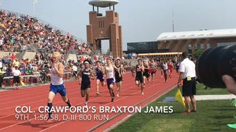 Highlights from the state track and field meet at Jesse Owens Memorial Stadium on May 31st and June 1st.