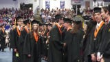 The processional of Northville High's June 2 graduation at USA Hockey Arena. 608 students received diplomas that day.