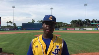 Adderley's first inning RBI double was all the run support the North pitchers would need in the Mike Picano Treasure Coast Senior All-Star Game.