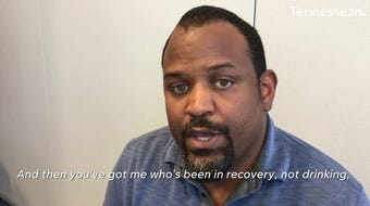 Recovering alcoholic Antwon Bailey never anticipated influencing someone else's sobriety. Hear more at the next Nashville Storytellers on June 20.
