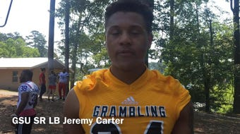 Grambling State redshirt senior linebacker Jeremy Carter shared what he learned from the kids at MedCamps