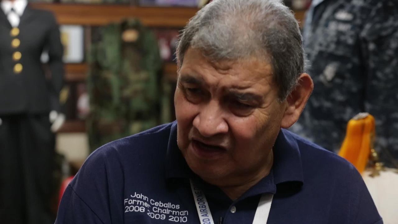 Benavidez-Patterson All Airborne Chapter Spokesperson on Lt. Col. Chisolm