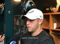 Nate Sudfeld on his day at Eagles' practice