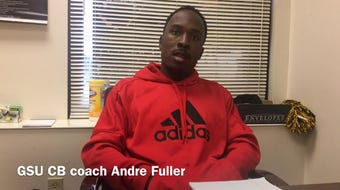 New Grambling State cornerbacks coach Andre Fuller details his relationship with head coach Broderick Fobbs.