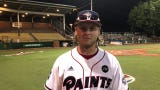 Chillicothe Paints outfielder Trey Smith hit a grand slam, leading to the Paints' 10-3 win over the Terre Haute Rex. He discusses the win here.