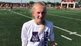 Albany's Rachael Neu qualified for Saturday's 400-meter dash final by running a 57.93 Friday at Hamline University in St. Paul.